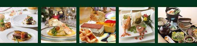 新鮮な素材でつくる味覚の「粋」をご堪能下さい。